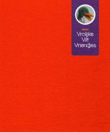 Wolvilt oranje 20