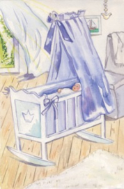 Blauwe wieg, Anne Wenzel