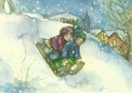 Januari, maandkaart Sanne Dufft
