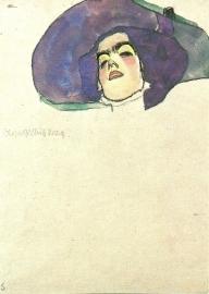 Vrouwenhoofd, Egon Schiele