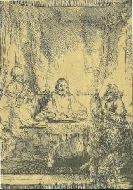 In Emmaus, Rembrandt