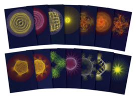 Planetary Rhythms, set of 14 cards