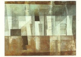 Architectuur met sterren, Lyonel Feininger