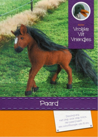 Patroonblad Paard