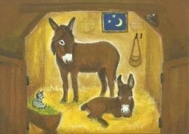 Ezel in de stal, Heike Stinner