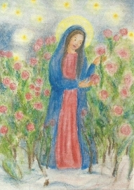 Maria in rozentuin, Ilona Bock