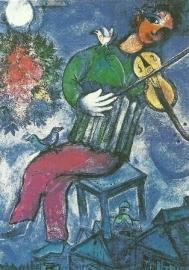 De blauwe violist, Marc Chagall