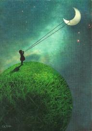De maan, Catrin Welz-Stein