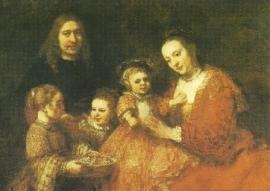 Familieportret, Rembrandt