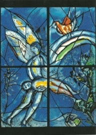 In den beginne schiep God, Marc Chagall