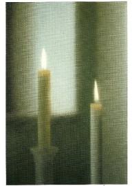 Twee kaarsen, Gerhard Richter