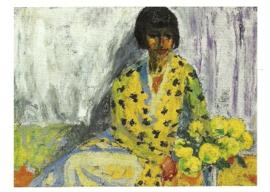 Vrouwenportret, Emil Nolde
