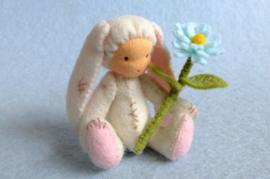 kleintje konijntje  (zelfmaakpakketje)
