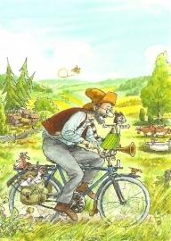Pettson en Findus op de fiets, Sven Nordqvist
