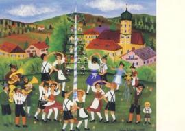 De meiboom, Helga Schuster