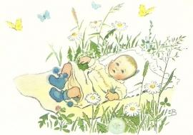 Kind tussen bloemen en vlinders, Elsa Beskow