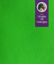 Wolvilt licht groen 24