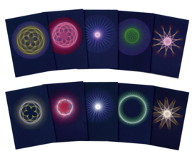 Planetary Rhythms, set of 10 cards