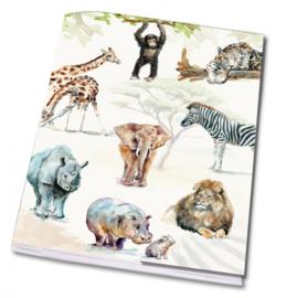 Schrift Afrikaanse dieren, Michelle Dujardin