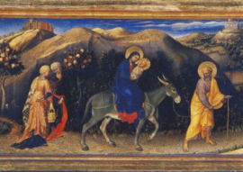 Vlucht naar Egypte, Gentile da Fabriano