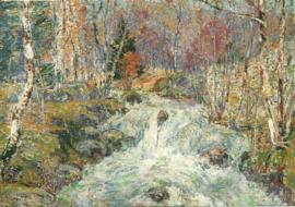 Bergstroom in Noorwegen, William Henry Singer