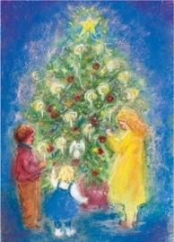Om de kerstboom, Marjan van Zeyl