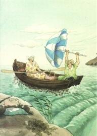 Vrouwen in boot, Inge Löök