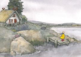 Meisje bij een meer, Sanne Dufft