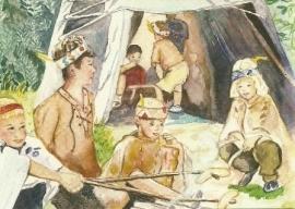 Indianenleven, Anne Wenzel