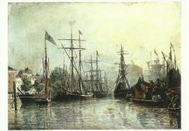 Haven van Rotterdam, Johan Barthold Jongkind