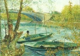 Vissen in de lente, Vincent van Gogh