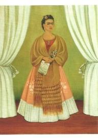 Zelfportret, Frida Kahlo