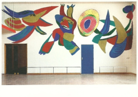 Appelbar in Stedelijk museum, Karel Appel