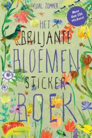 Het briljante bloemen stickerboek
