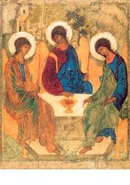 Heilige drievuldigheid, Andrej Rubljew