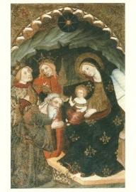 Aanbidding van de Koningen, Pedro Serra