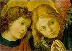 Biddende engelen, F. Lippi