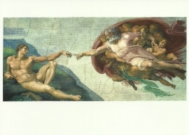 Schepping van Adam, Michelangelo