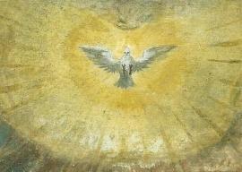 Duif, 16de eeuws fresco