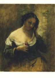Het meisje met de roos, Jean Baptiste Corot