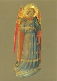 Musicerende engel panfluit, Fra Angelico