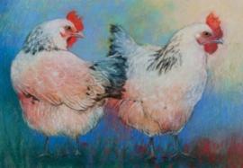 Twee kippen, Loes Botman
