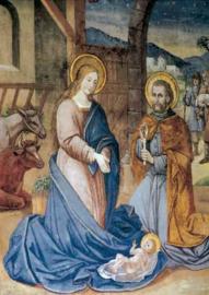 Geboorte van Christus, Fresco Germering