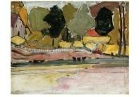 Aan de oever, Piet Mondriaan