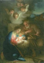 Geboorte Christus, Anton Raphael