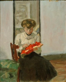 Hoedenmaakster, Pierre Bonnard