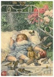 Kindje, bedje, buiten, Cornelis Jetses