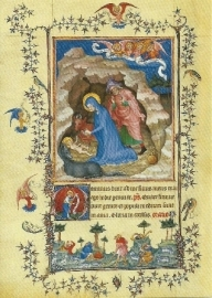 Geboorte van Christus, getijdenboek Turijn