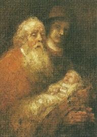 Simeons lofzang, Rembrandt