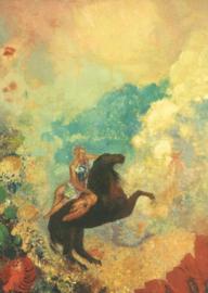 Muze van Pegasus, Odilon Redon